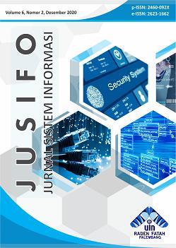 JUSIFO (Jurnal Sistem Informasi) | Vol. 6, No. 2, Desember 2020